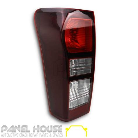 isuzu  max ute   left rear dmax tinted tail light lamp lhs  led panel house