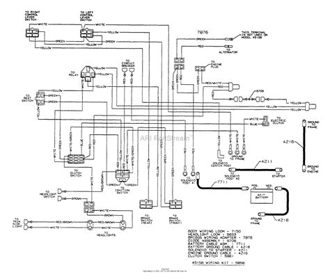 dixon ztr 4515b 1999 parts diagram for wiring