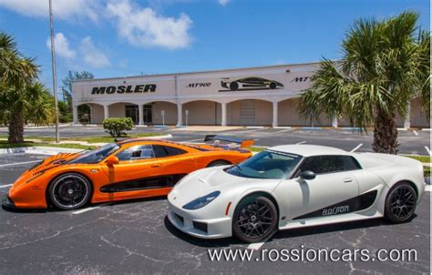 American Supercar Brands Rossion And Mosler Merged