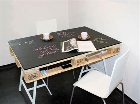 bureau recup la palette en bois dans tous ses états décoration