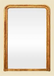 Miroir Doré Ancien : grand miroir dor cheminee poque louis philippe ~ Teatrodelosmanantiales.com Idées de Décoration
