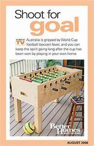 DIY Foosball Table Tutorial Basement Pinterest