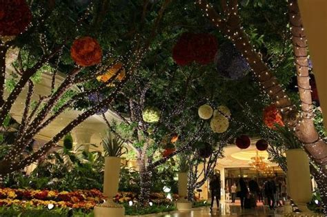 beautiful indoor garden picture of las vegas las