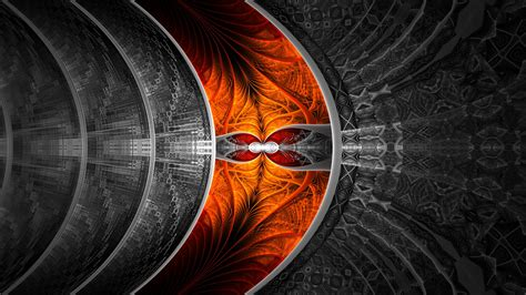 abstract fractal selective coloring wallpapers hd