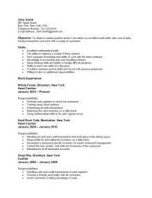 resume bullet points for grocery store cashier free grocery store cashier resume template sle ms word