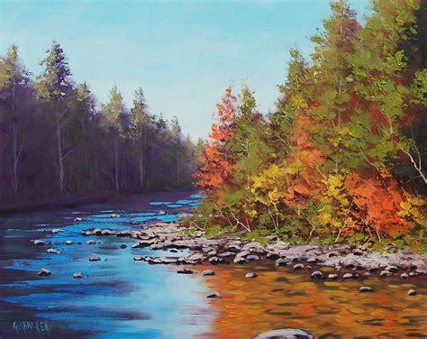 Colorado River Painting by Graham Gercken