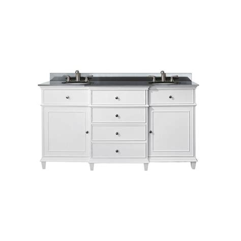 60 inch double sink vanity top avanity windsor 60 inch w double sink vanity in white