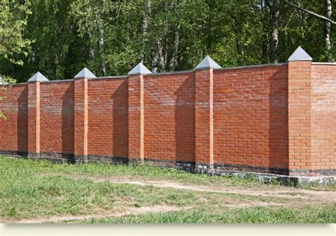 brick fence ideas brick fence pictures and ideas