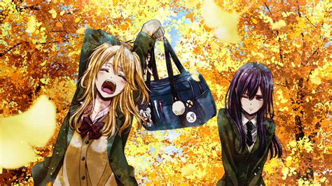 Citrus Anime Wallpaper - mei aihara yuzu aihara fond d 233 cran hd arri 232 re plan