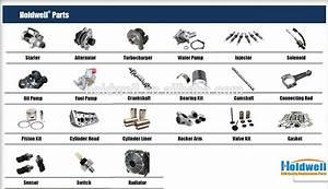 Diesel Engine Parts Fit Denyo Generator Model Dca Tlg