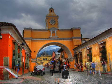 Arch Antigua Guatemala The Ghosts Of Antigua This Is