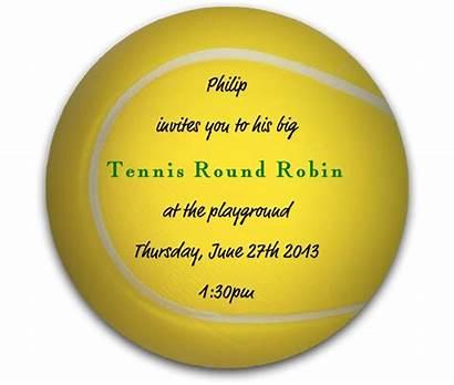 Tennis Tennisturnier Tinas Einladungskarte Einladung Einladungskarten Gestaltet