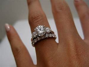 Cool Wedding Ring 2016 Three Stone Rings With Wedding Bands