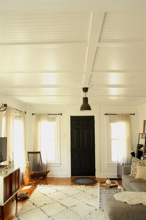 Ceiling In Room by 10 Real Exles Of Beautiful Beadboard Paneling