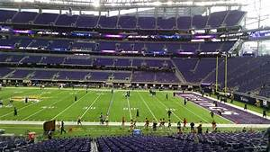 Vikings Stadium Seating Chart With Seat Numbers U S Bank Stadium Section 107 Minnesota Vikings