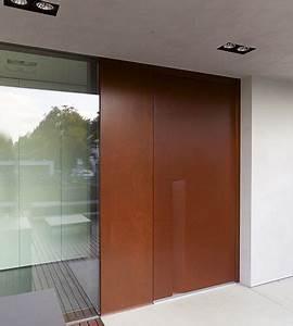 Haustür Holz Modern : moderne haust r in holz doors pinterest t ren und modern ~ Sanjose-hotels-ca.com Haus und Dekorationen
