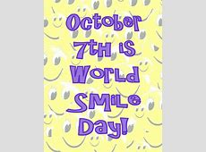 World Smile Day at Downtown, Windsor October 7, 2011 9am