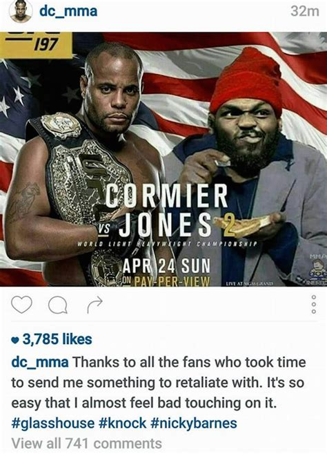 Daniel Cormier Memes - total pro sports jon jones trolls daniel cormier