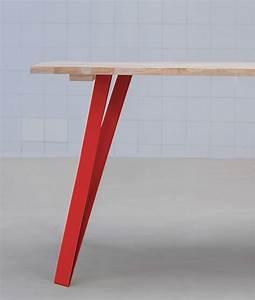 Pied De Table Basse Metal : graf k fabricant de pieds de table et plateau en bois design ~ Teatrodelosmanantiales.com Idées de Décoration