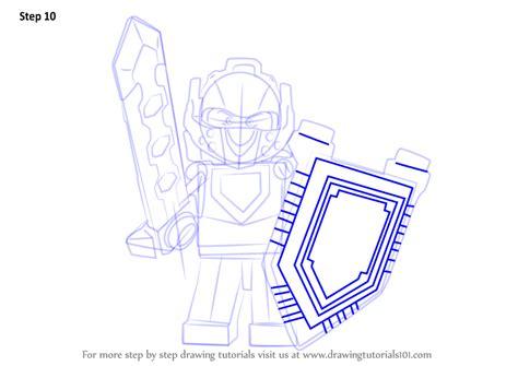 step  step   draw clay  lego nexo knights