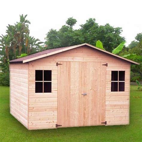 abri de jardin 4 12 m2 bois pefc 12 mm plancher plantes et jardins