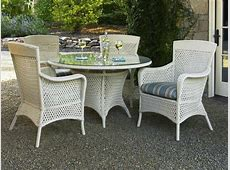 White Wicker Dining Chairs Rattan And Wicker Furniture