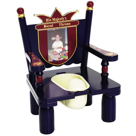 The Potty Chair by His Majesty S Throne Prince Wooden Potty Chair For Boys