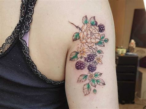 blackberry tattoo  tattoo ideas gallery