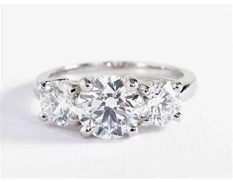 Classic Threestone Diamond Engagement Ring In Platinum. Gigantic Engagement Rings. Letter E Rings. Man South Africa Wedding Rings. Symbol Rings. Jb Star Rings. Multi Metal Wedding Rings. July Birthstone Wedding Rings. Bezel Rings