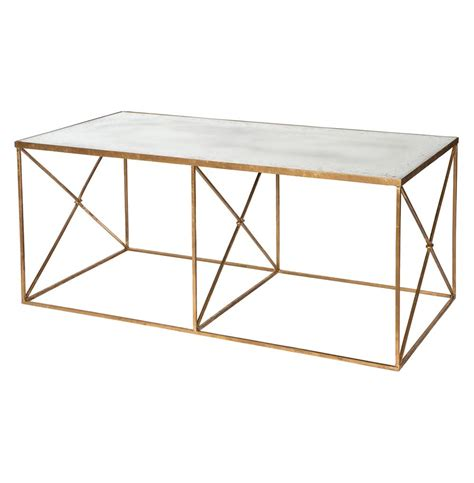 gold mirrored coffee table furano hollywood regency gold antique mirror coffee table