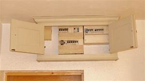 Deanery Bespoke Fuse Box Cabinet With Hand