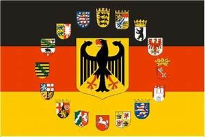 Deutschland Flagge Bilder : fahne deutschland adler mit 16 bundesl nder wappen 90 x 150 cm ~ Markanthonyermac.com Haus und Dekorationen