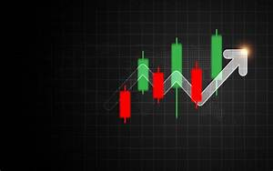 Forex Candlestick Signal With Arrow Bar Graph  Business