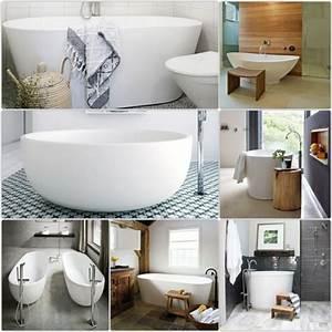 Tapeten Badezimmer Beispiele : badewanne freistehend ideen und inspirierende badezimmer beispiele ~ Markanthonyermac.com Haus und Dekorationen