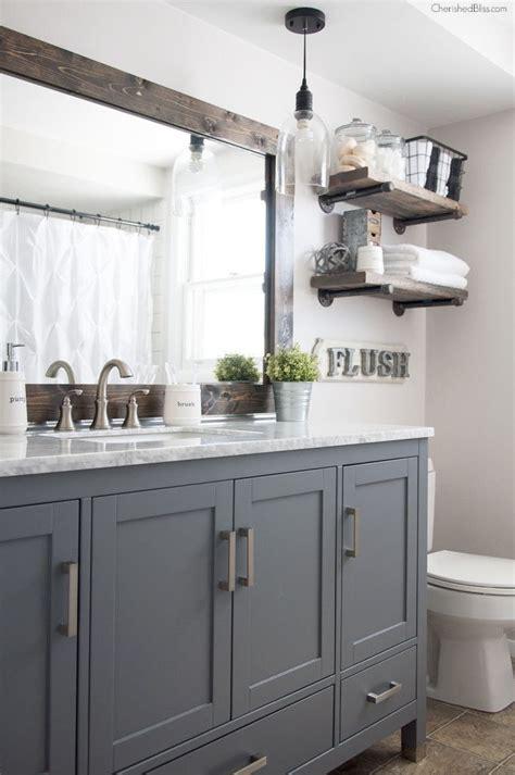 Bathroom Cabinet Design With Dark Gray  Modern Home