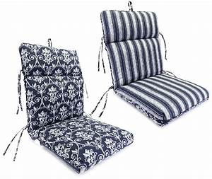 Garden chair covers seat cushion velcromag for Garden furniture seat cushion covers