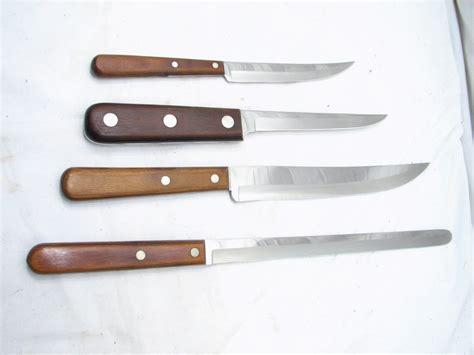 xx kitchen knives set vintage case xx kitchen cutlery knives knife w holder