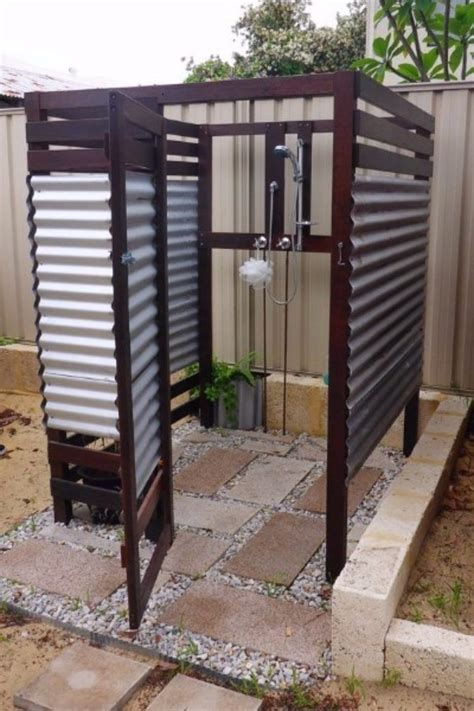 Home Design Ideas Outside by 20 Amazing Outdoor Shower Design Ideas Woodworkerz