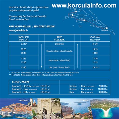 Excursion Catamaran Brac by Ferry Catamaran Dubrovnik Korcula Hvar Bol Brac