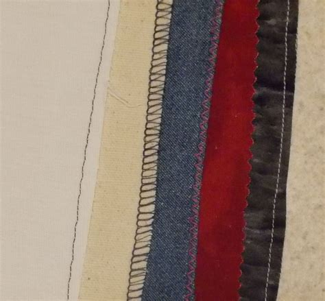 seam finishes fabric  types