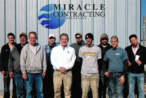 miracle contracting earns esteemed  angies list super