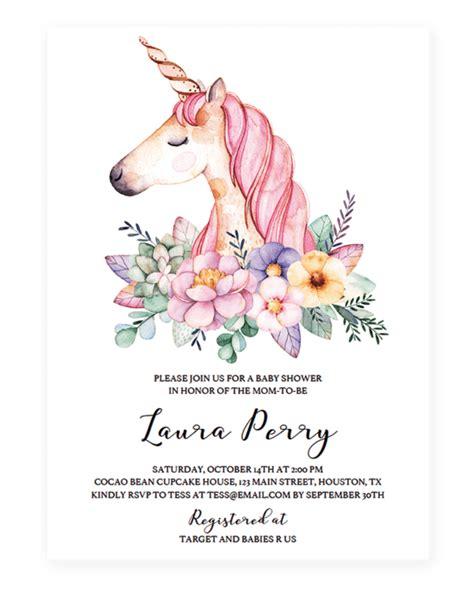 invitation clipart unicorn invitation unicorn transparent