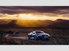 Wallpaper landscape, mountains, sunset, nature, blue