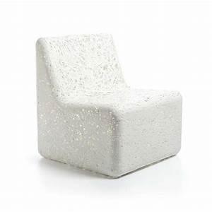 Fauteuil En Plastique : cora fauteuil design de jardin en plastique en blanc ou ~ Edinachiropracticcenter.com Idées de Décoration