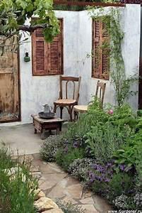 46, Amazing, Small, Courtyard, Garden, Design, Ideas