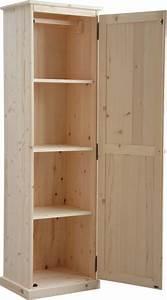 Armoire Salle De Bain Bois : armoire en bois brut ~ Teatrodelosmanantiales.com Idées de Décoration