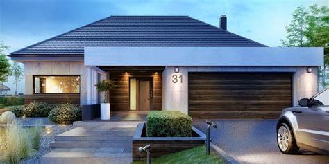 Moderner Bungalow Mit Garage by Die Besten 25 Fertighaus Bungalow Ideen Auf