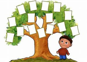 Family Tree For Kids Template - ClipArt Best