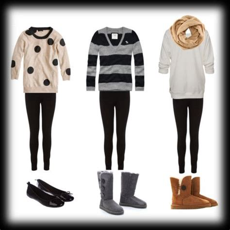 The gallery for --u0026gt; Cute Lazy Outfits With Leggings