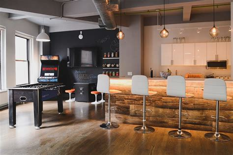 Office Bar by Path Interactive S Cool New York City Office Officelovin